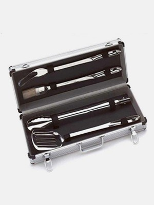 BBQ Grill Tools Set with 16 Barbecue