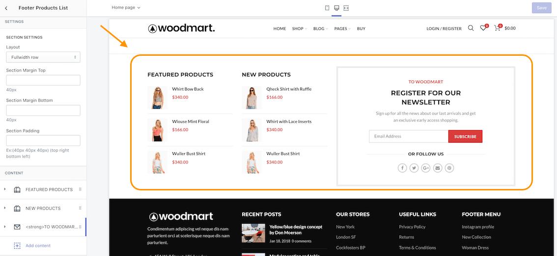 Woodmarket Shopify Theme Documentation