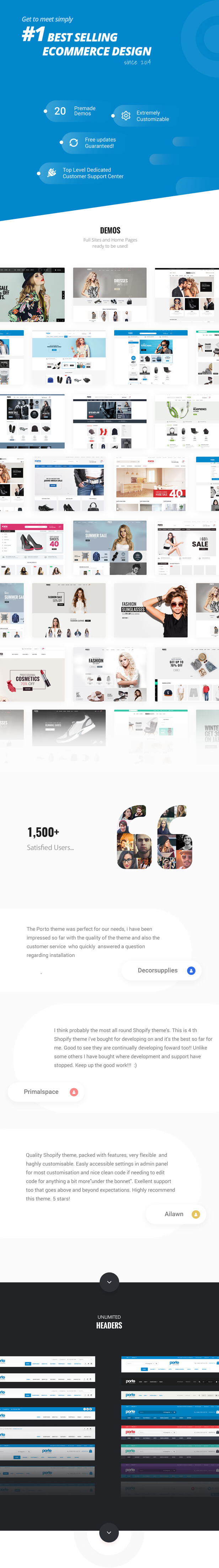 Porto - Responsive Shopify Theme - 3